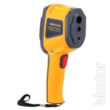 The camera Kcmoon HT-02 ( IR-60 ), 0.3 MP (3600 pixels), ( -20 to +300 °C ), Mini-SD