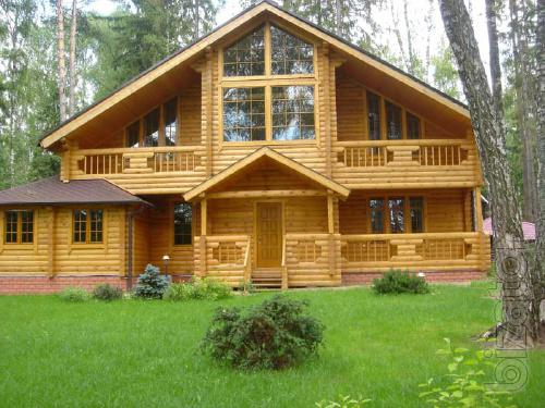 Buy A Log Cabin Ready Chopped The Construction Of Houses From Logs