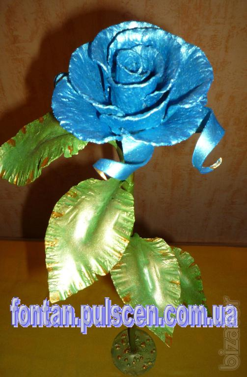Forged roses, flowers, Wrought rose, Cowan rose wholesale retail.
