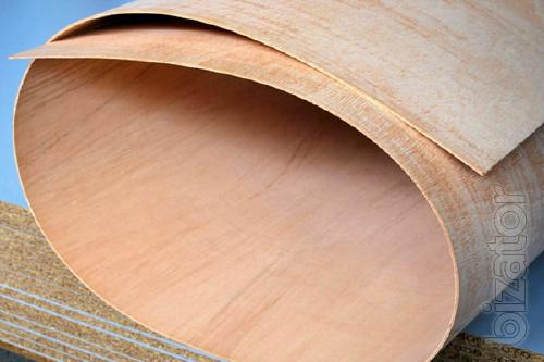 Flexible plywood for decoration of interior spaces, partitions, screens.