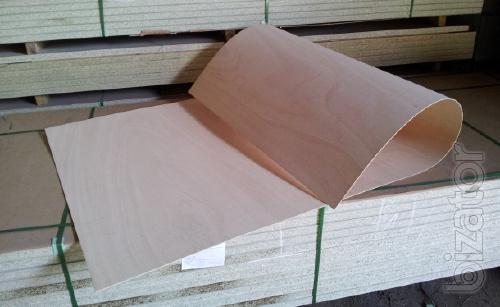 Flexible plywood Ceiba 3 mm, 5 mm format 2440Х1220 mm.