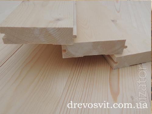 Floor boards. Pine. Grooved.