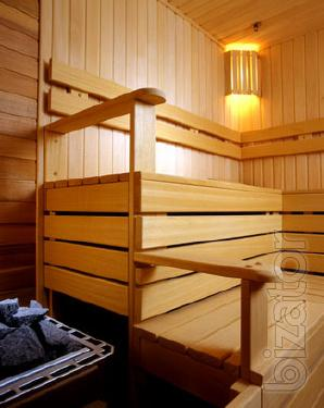 A sunbed (timber shelves) alder and basswood