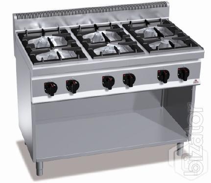 Gas stove Bertos G7F6M