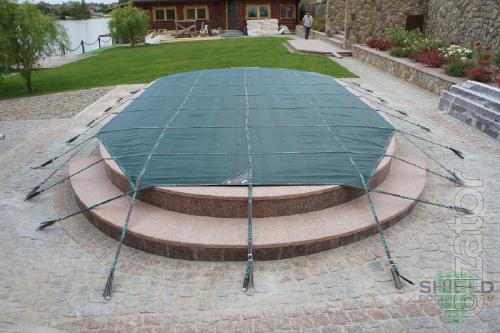 All season protective covering for the pool Shield