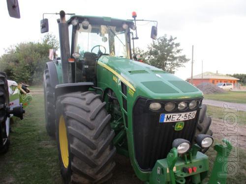 Tractor John Deere 8430 Powershift 2006/7700 m/h, power-247кВт/335 HP