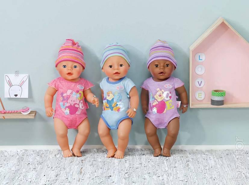 Interactive Baby Doll Zapf Creation Baby Born Boy 822012
