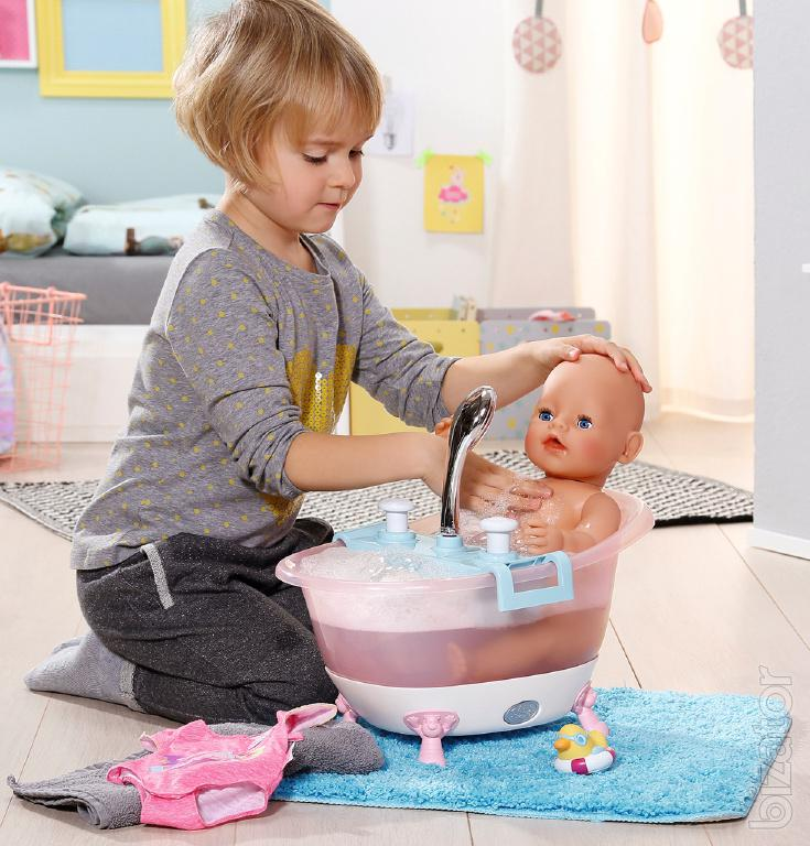 Interactive Tray With Foam For Dolls Baby Born Zapf