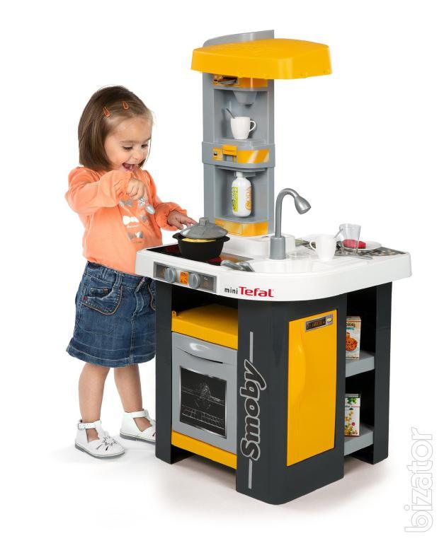 interactive children 39 s kitchen smoby tefal mini studio 311000 buy on. Black Bedroom Furniture Sets. Home Design Ideas