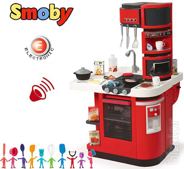 interactive children 39 s kitchen smoby cook master 311100 buy on. Black Bedroom Furniture Sets. Home Design Ideas