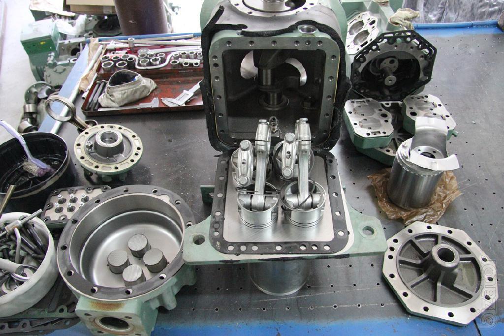 Ремонт поршневого компрессора своими руками