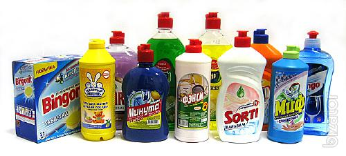 Household chemicals - buy in Almaty wholesale and retail Housewares
