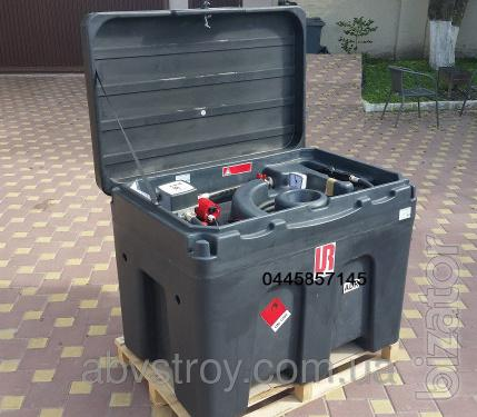 mobile petrol station, container for fuel transportation