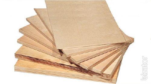 Plywood water-resistant FC 2500х1250 mm with sending to Ukraine.
