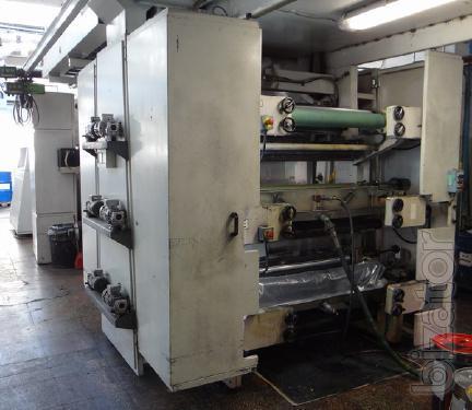Flexo printing machine Italy, 2003.