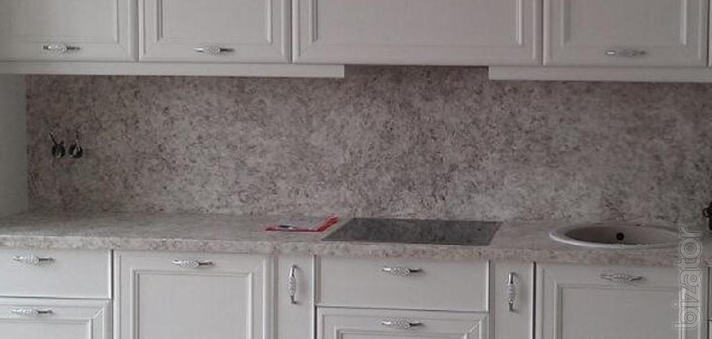 Countertop of quartz stone