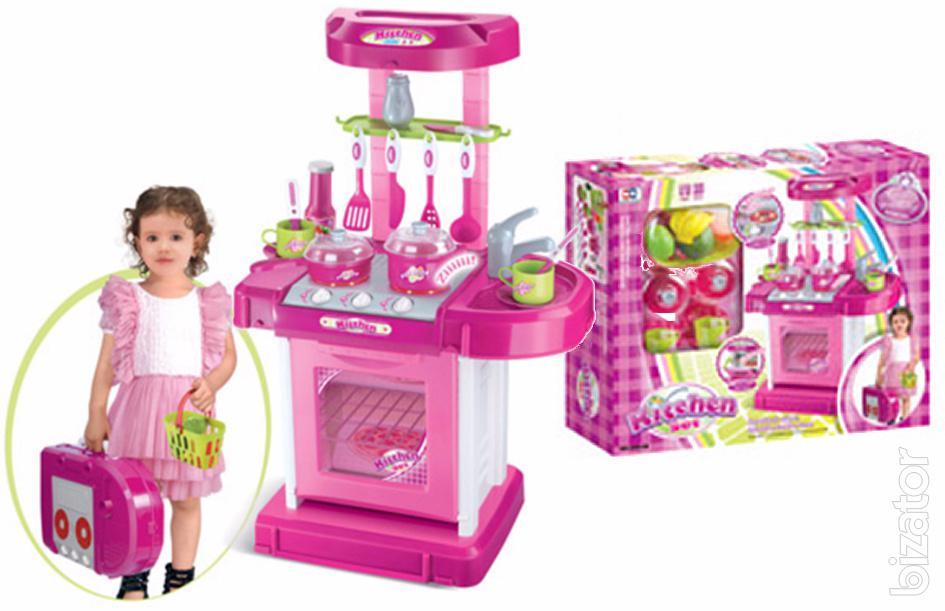 Children\'s play Kitchen set with accessories 008-56 - Buy on ...