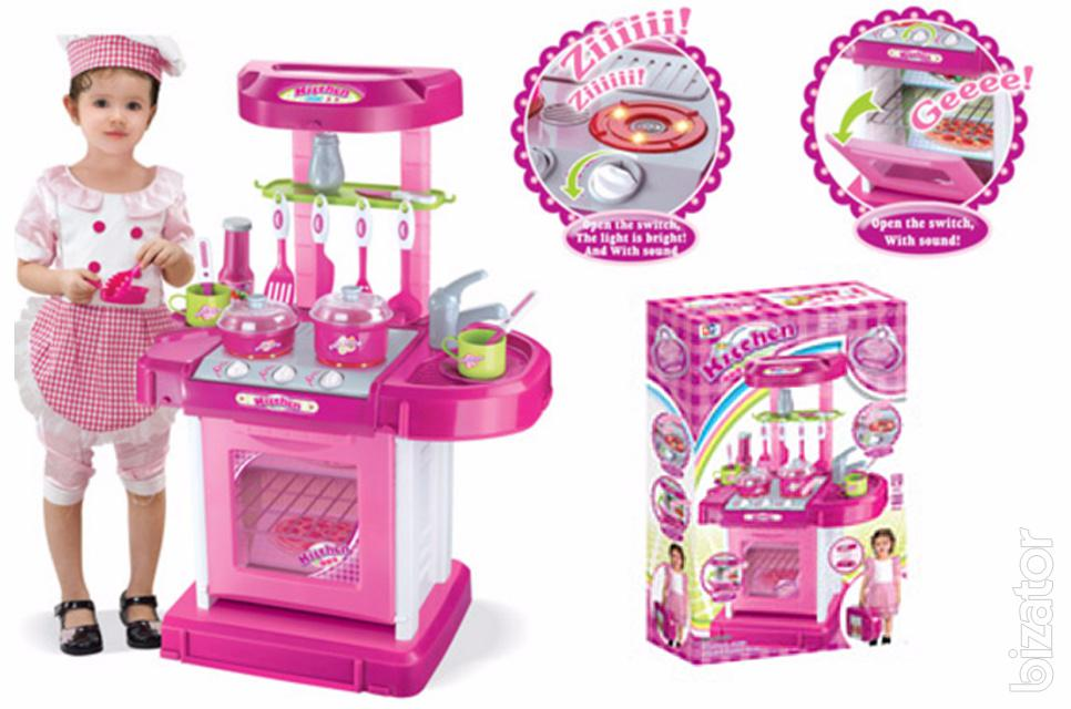 Children 39 s play kitchen set with accessories 008 58 buy for Kitchen set 008 82