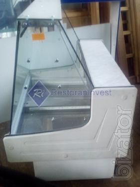 Sale of refrigerated display cases BU confectionery and gastronomy Kiev