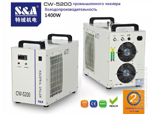 CW-5200 Cooling capacity industrial chiller 1400W