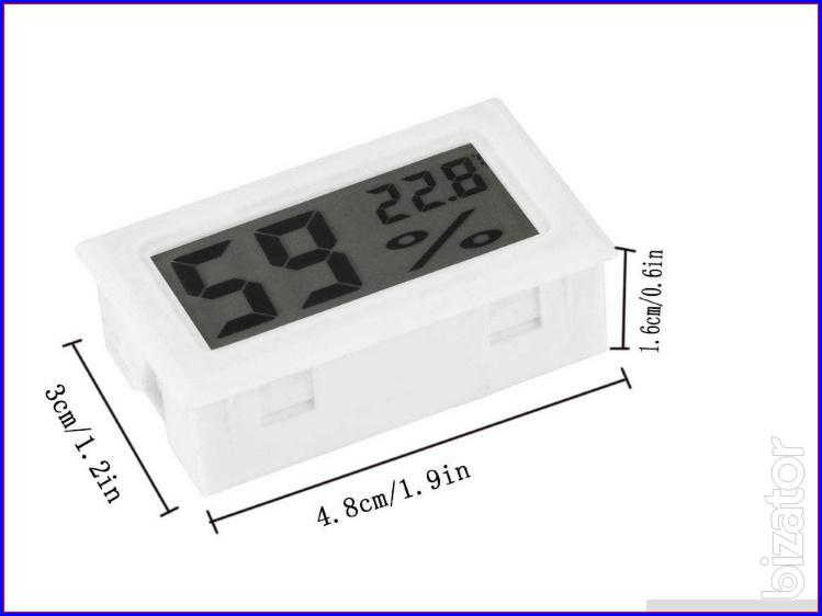 Hygrometer thermometer for the comfort of your kiddies and friends shipping price see video