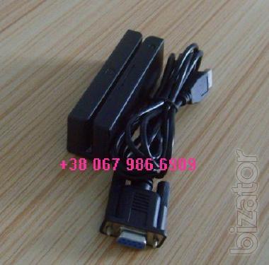 Считыватель магнитной карты Mini. Картридер. Ридер. magnetic card reader. Скиммер