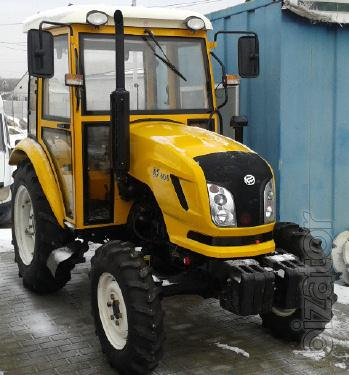 Mini tractor Dongfeng-404C (Dongfeng-404C) with cab yellow