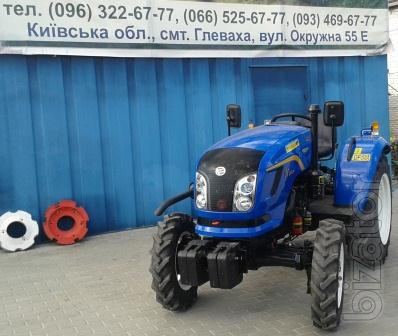 Mini tractor Dongfeng-244D (Dongfeng-244D) with wide tyres