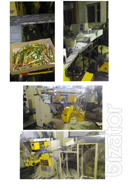 Wrapping machine Nagema,etc. in Germany for group packaging of tablets of 10pcs.in double torsion, askorbinka, and so on.