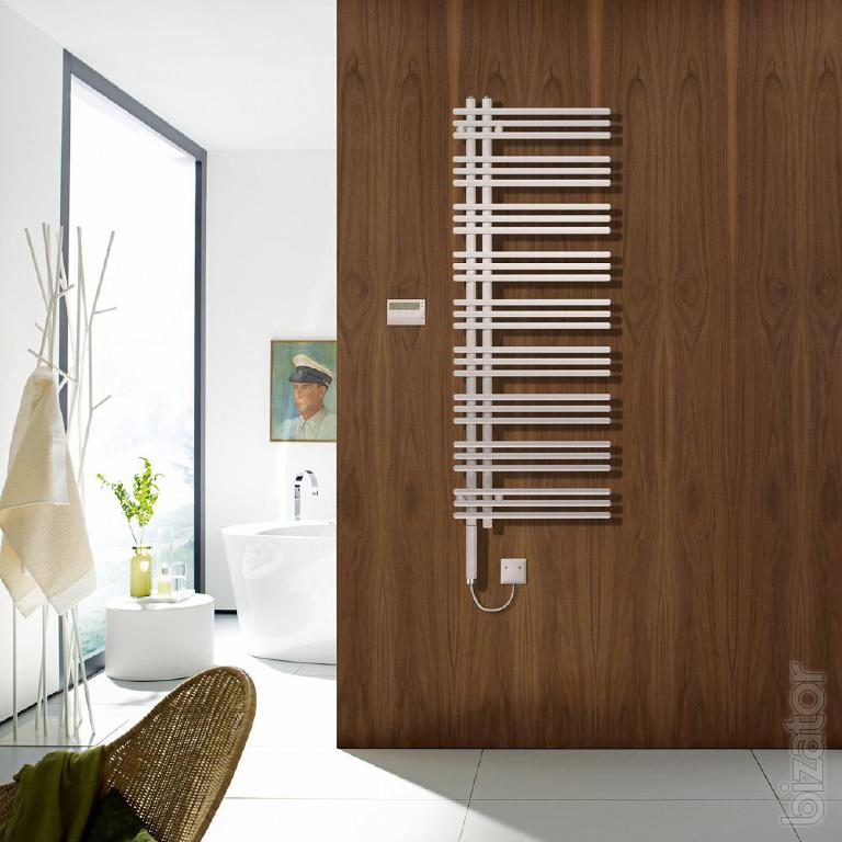 designer heated towel rail zehnder yucca asym buy on. Black Bedroom Furniture Sets. Home Design Ideas
