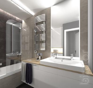 Designer towel rail Terma Kioto