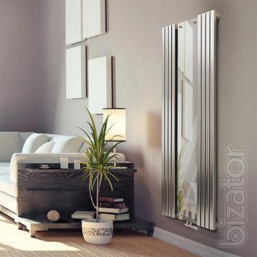 Radiator with Vertica D mirror Mirror