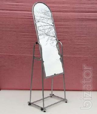 Mirror for fitting room shopping 150х46 cm