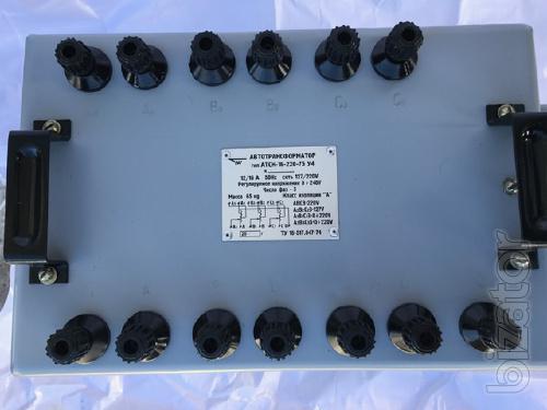 Atsn-16. Atsn-16-220. Atsn-16-220-75ukhl4 - autotransformer