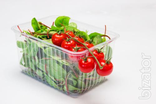 Одноразовая упаковка: блистерная, упаковка для суши, фруктов, тортов
