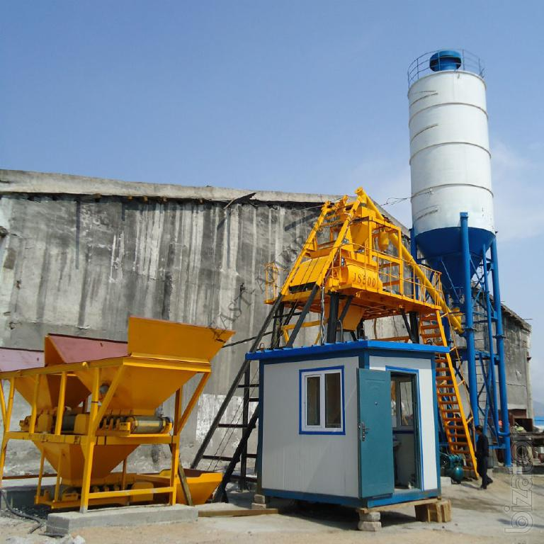 HZS25 Stable Performance Stationary Concrete Batching