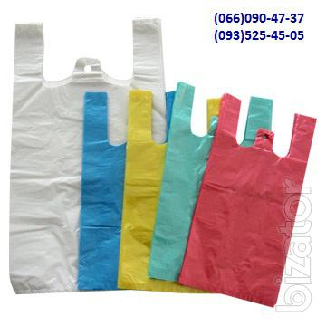 Пакеты, полотно, рукав и полурукав из полиэтилена.