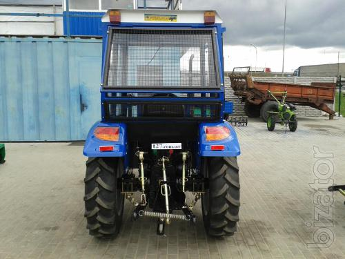 Mini tractor Dongfeng-354 (Dongfeng-354) 4-cylinder with cabin