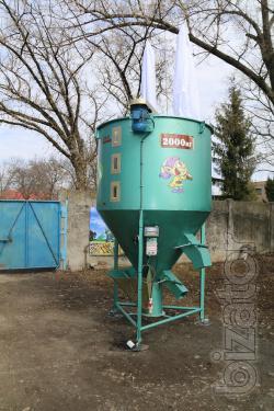 Feed mills, mixers Dwarf 4000 kg