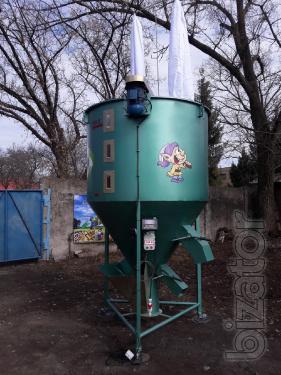 Mixer feed (feed mixer) 500kg Dwarf