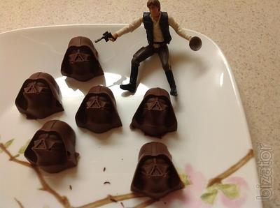 silicone shape ice tray Darth Vader
