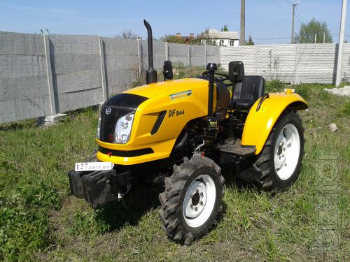 Mini tractor Dongfeng-244D (Dongfeng-244Д) yellow
