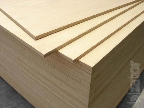 Birch plywood of all types in a wide range
