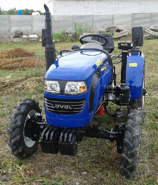 Mini tractor Lovol TE-244 (Photon TE-244) with reverse and wide tires
