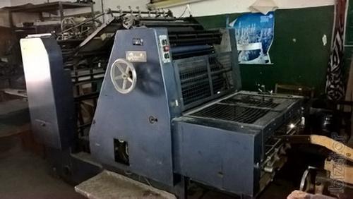 Printing equipment B2, 1+1