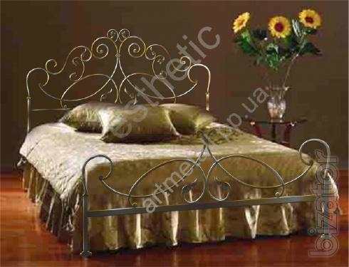 Bed wrought iron of own production