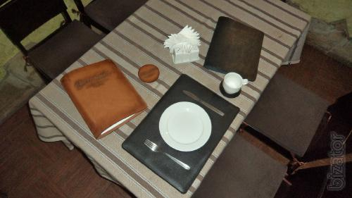 We manufacture accessories for hotels and restaurant under the order