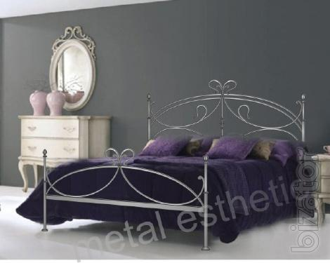 Wrought iron bed custom made