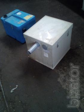 Separators Jira b/u, sewer zhirouloviteli used for cafes, fast food