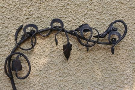 Wrought iron wall hanger